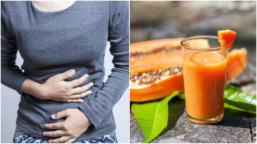 Papaya, Green Tea, and Aloe Vera: The Answer to Bloating
