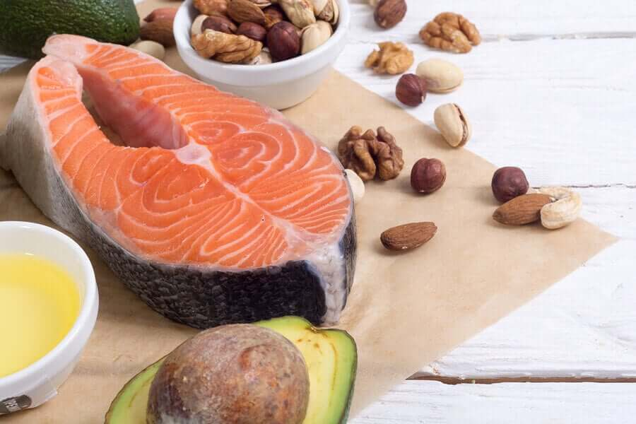 Healthy fatty acids to regulate your cholesterol.