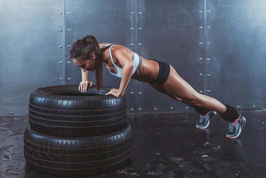 CrossFit is one of the exercises that won't help you lose weight.