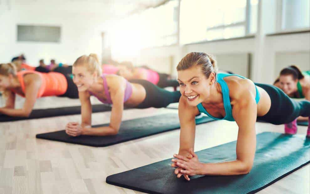 Exercises that help burn fat.