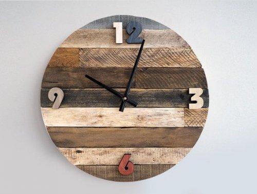 rustikale Uhr &quot;width =&quot; 500 &quot;height =&quot; 378 &quot;/&gt;</figure><p>Benutze das Innenleben einer Uhr und häng es an eine Wand. <strong>Wähle danach 12 Fotos aus Du liebst und bringst sie in einem Kreis aus</strong> Du kannst verschiedene Rahmen für eine kreative Berührung verwenden.</p><blockquote><p> <em>Hier haben Sie:</em></p><p><em> <a href=