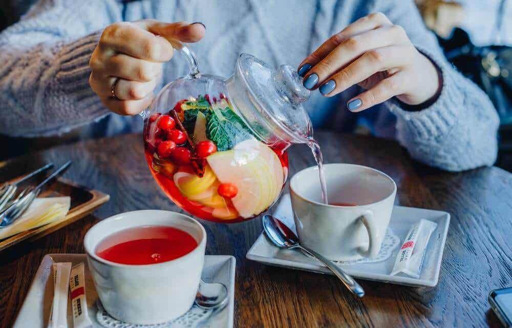Teas to reduce your abdomen.