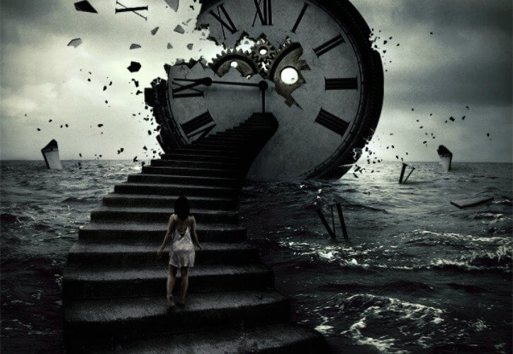 Sublime picture of time