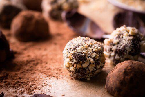 Chocolate truffle.