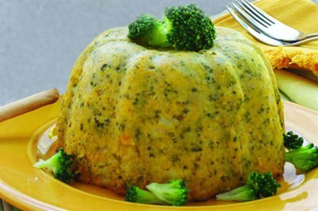 Vegetable bread recipe.