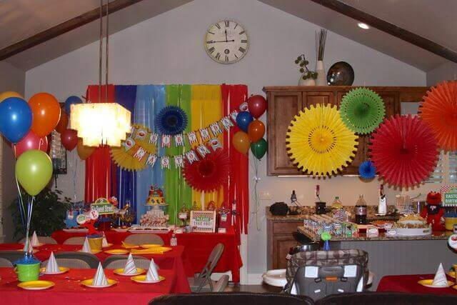 Four Birthday Decoration Styles