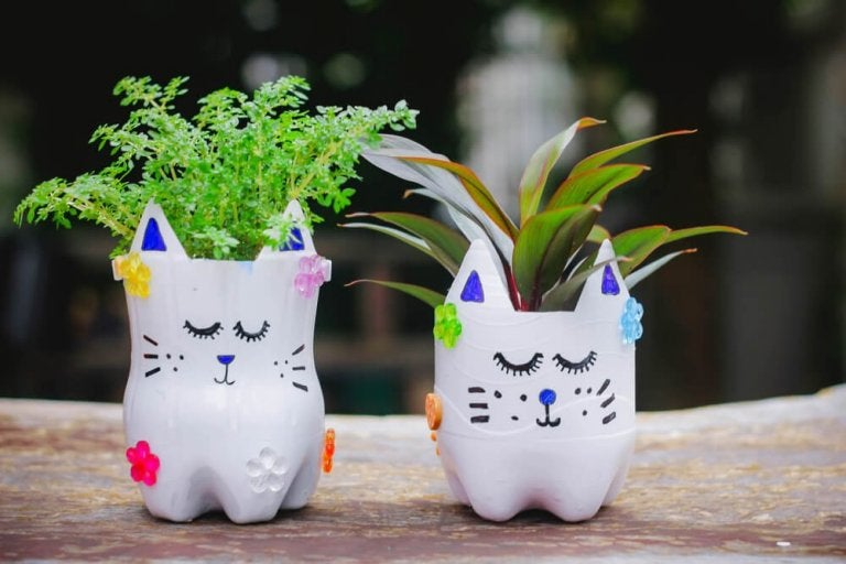 Make Your Own Planters at Home