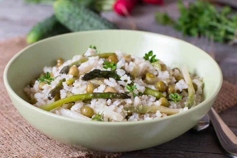 Cholesterol-Friendly Rice with Vegetables and Chia Seeds