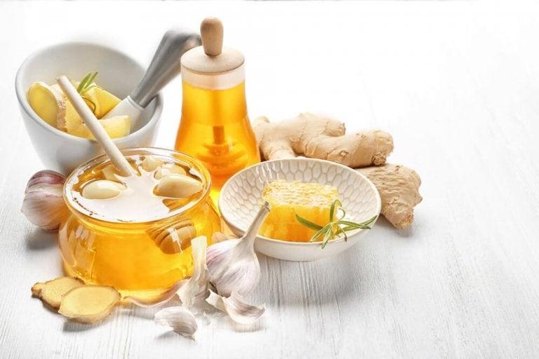 A Ginger-Garlic-Honey Remedy for High Cholesterol