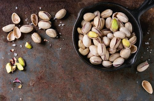 A bowl of pistachio nuts mental tricks