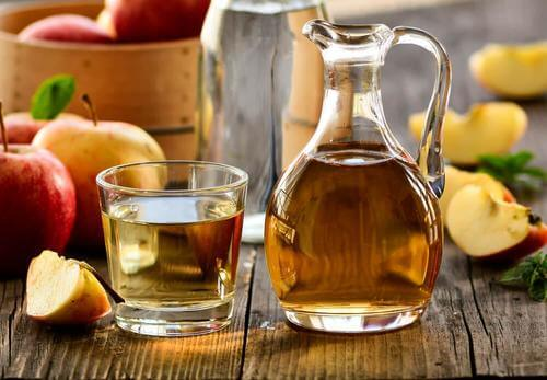 Apple cider viengar in a bottle for  alopecia