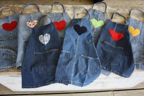 "recyceln Sie alte Jeans ""width ="" 500 ""height ="" 333"