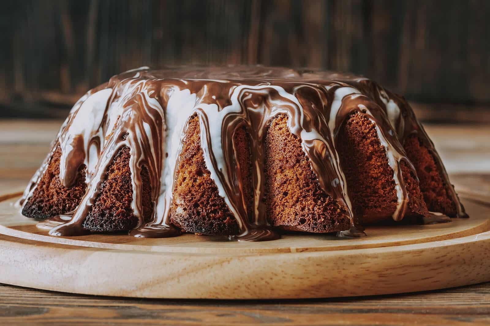 Chocolate cake recipes: homemade.