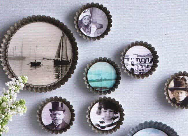 11 Decorative Ideas for Your Family Photos