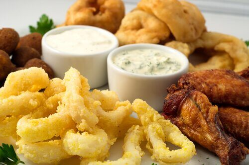 Fried food