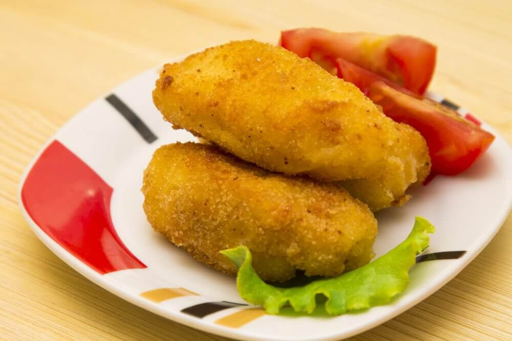 Tuna Croquettes with Cheese Recipe