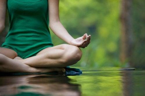 Basic yoga poses.