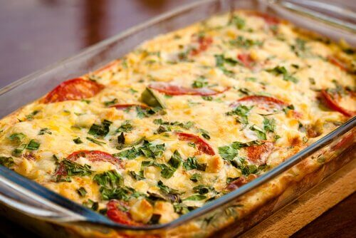 How To Make a Courgette and Tomato Gratin