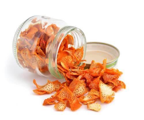 Fall Asleep Faster with Tangerine Peel Tea