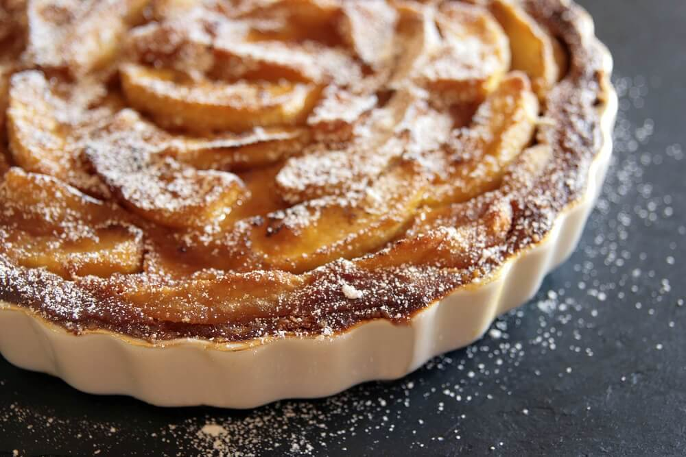 the easiest apple tart in the world