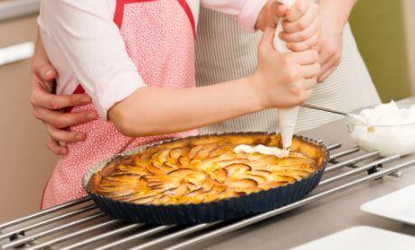 easiest apple tart recipe