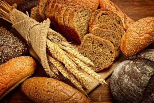 whole bread; lose weight healthily