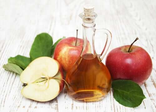Some apple cider vinegar which is good for parasitic infections.