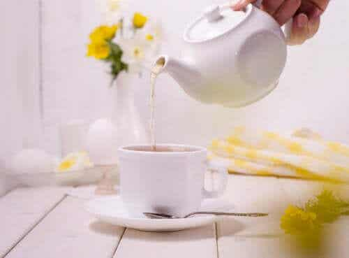 Four Teas to Relieve Bloating after Eating