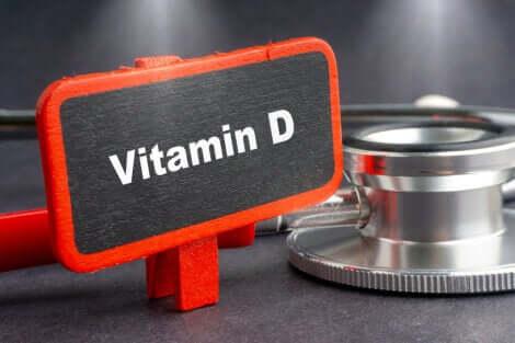 A digital representation of vitamin D.
