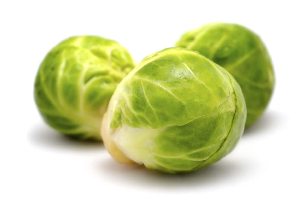 Brussels Sprouts with Zucchini Cream Sauce