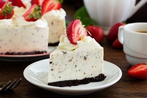 cheesecake med oreo