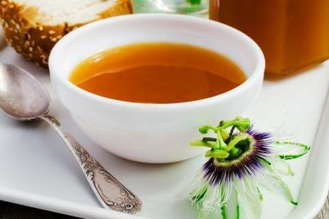 This is a passionflower infusion that can help control blood pressure.