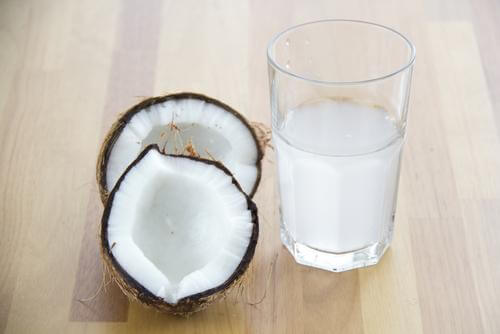 Coconut water.