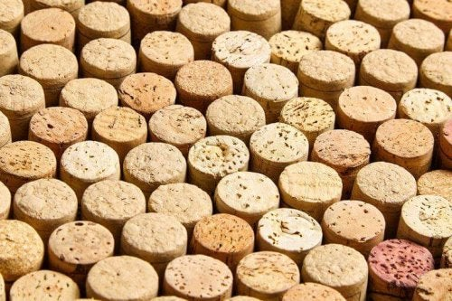 A lot of corks.