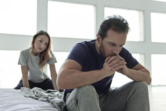 frustreret mand i parforhold