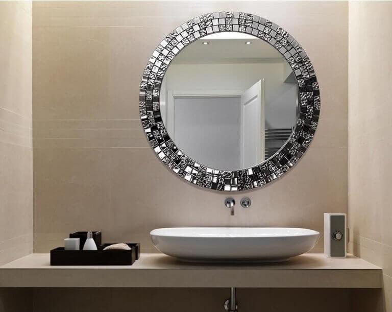 Designer mirror.