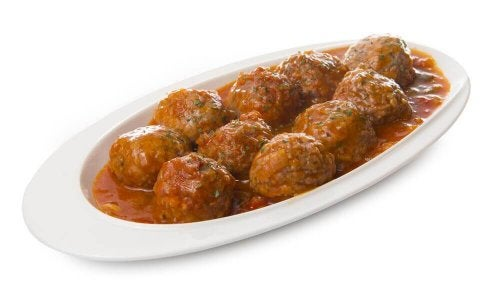 Delicious Meatballs in Spanish Sauce Homemade Recipe