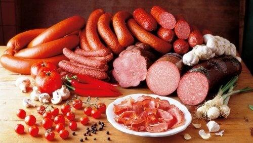 Deli meats.