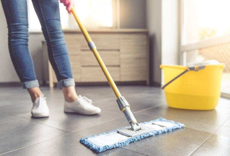 Seven Tips for Cleaning Tile Floors