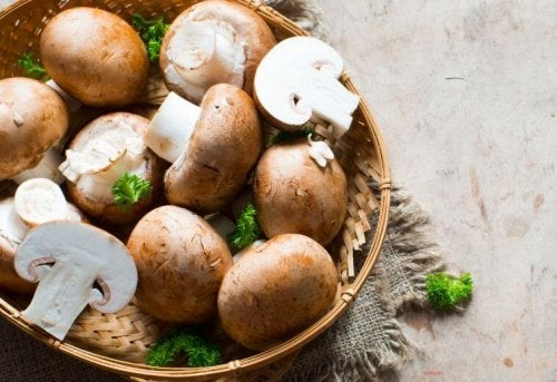Growing mushrooms at home is easy.