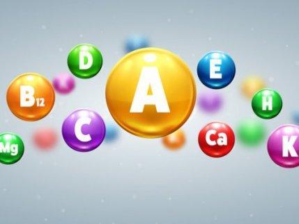Image representing different vitamins.