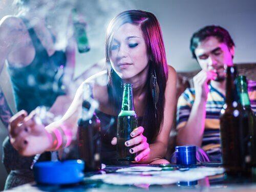 Peer pressure can make teens more daring.