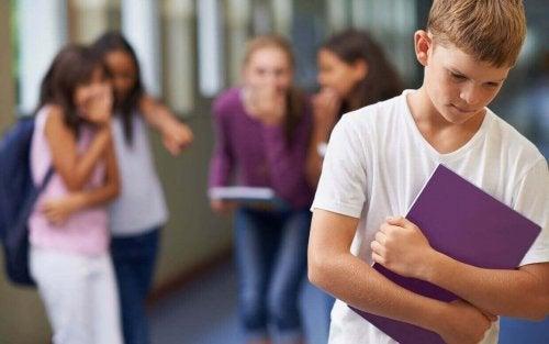 Peer pressure is very common at school.