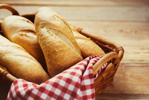 A few loaves of bread.