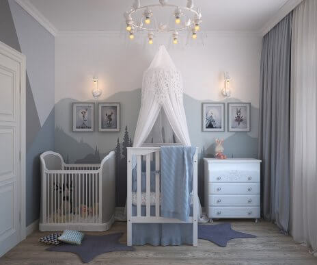 The Four Best Colors for a Child's Bedroom