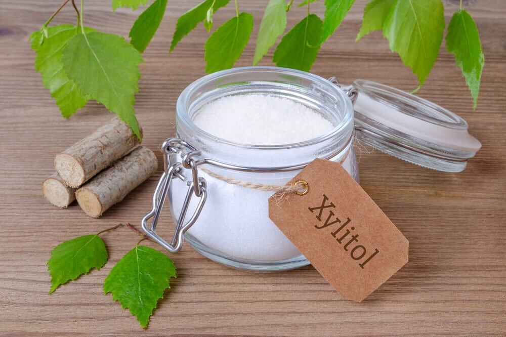 Xylitol is a good replacement for sugar