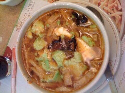 Tlalpeno Soup Recipe