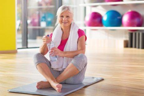 Excercising assists the treatment of osteoarthritis.
