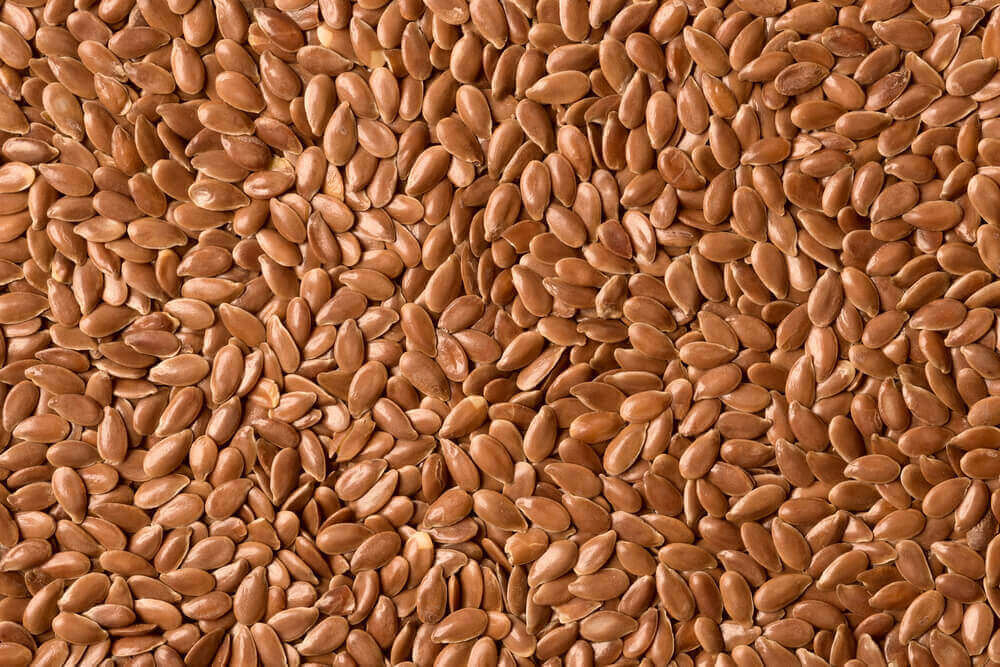 A lot of linseed.