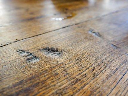Moldy wood.
